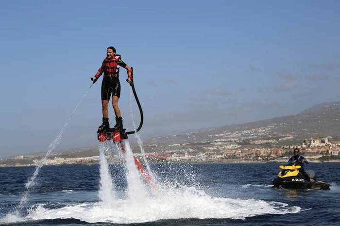 Flyboard Fly Over The Sea Like Ironman Tenerife Activity