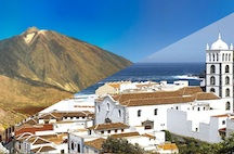 Teide national park and the north coast of tenerife