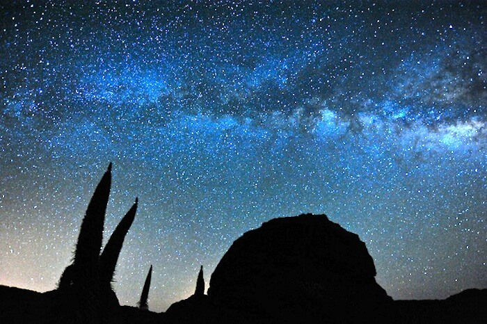 Excursion Stargazing at the teide national park by night