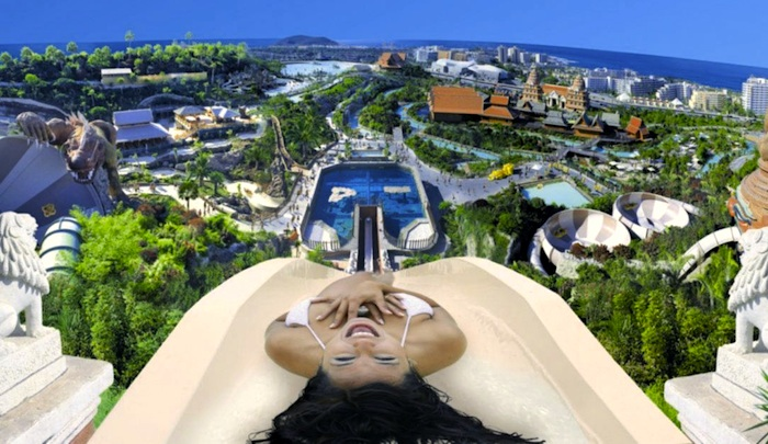 Excursion Siam park tickets