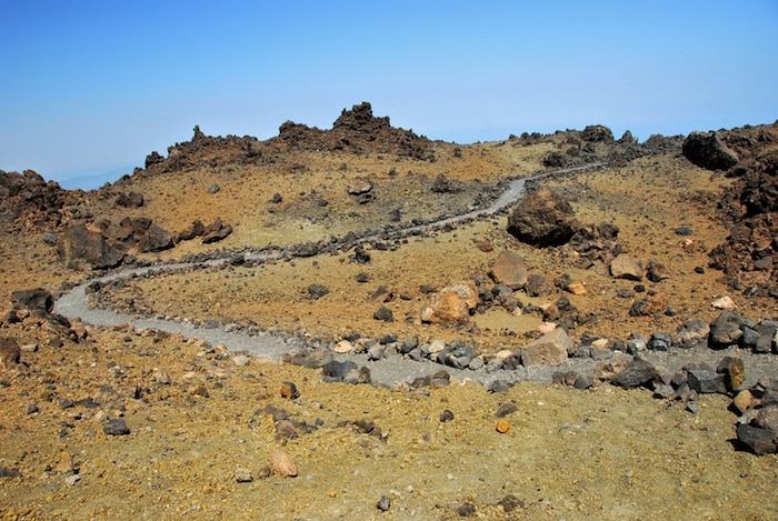 Excursion Trekking to the teide peak, with permit and guide