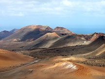 Timanfaya national park, by bus with an official guide