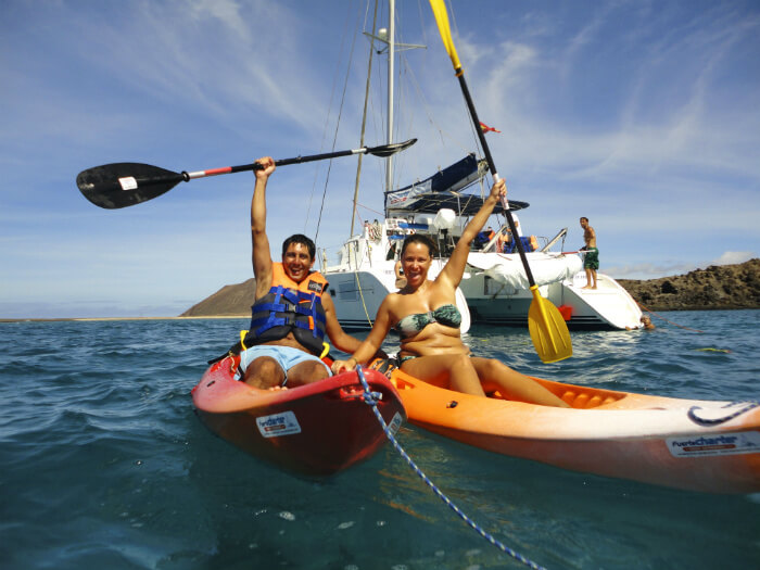 Экскурсия Экскурсия вокруг острова isla de lobos на катамаране