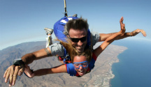 Fallschirmspringen im tandem