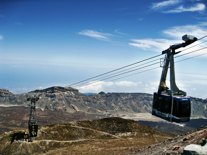 Excursion Teide volcano cable car tickets