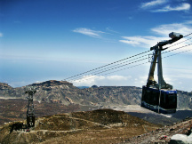 Teide volcano cable car tickets